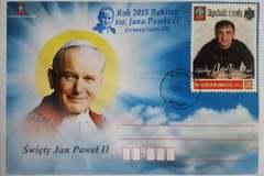 Johannes-Paul-II Postkarte